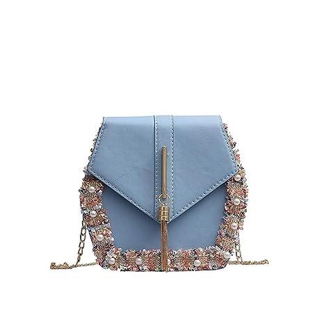 036c38e000b72c LILIHOT Frauen Tasche Fransen Perle Wild Messenger Bag Fashion Single  Umhängetasche Casual Wild Handbag Outdoor Kleine