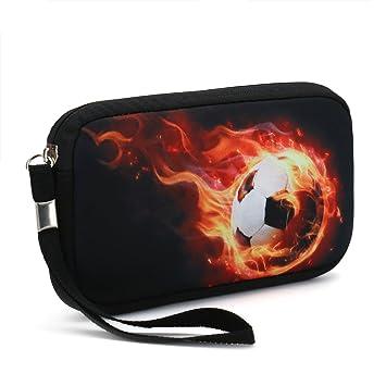 Unisex portátil lavable viaje todos los smartphone Wristlets bolsa de embrague Cambio Cartera, Monedero,