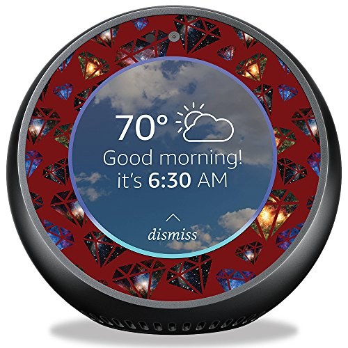MightySkins Skin for Amazon Echo Spot - Diamond Galaxy   Protective, Durable, and Unique Vinyl Decal wrap Cover   Easy to Apply, Remove, and Change Styles   Made in The USA
