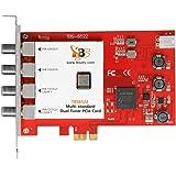 TBS6522 DVB-S2X/S2/S/T2/T/C2/C/ISDB-T対応 マルチスタンダード デュアル PCI-E チューナーカード Multi-standard Dual Tuner PCI-e Card