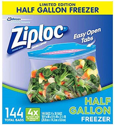 Ziploc Half Gallon Freezer boxes product image