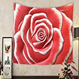 Keshia Dwete Custom tapestry low relief cement thai style handcraft of rose flower