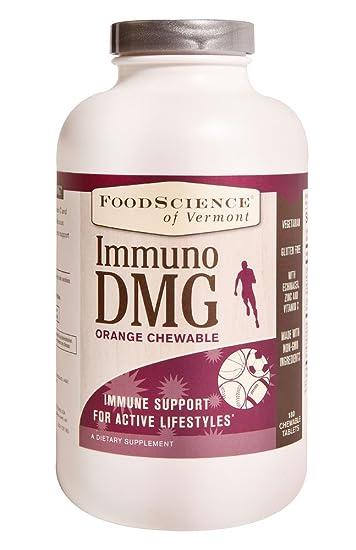 Amazon com : FoodScience of Vermont Immuno DMG Orange -- 180