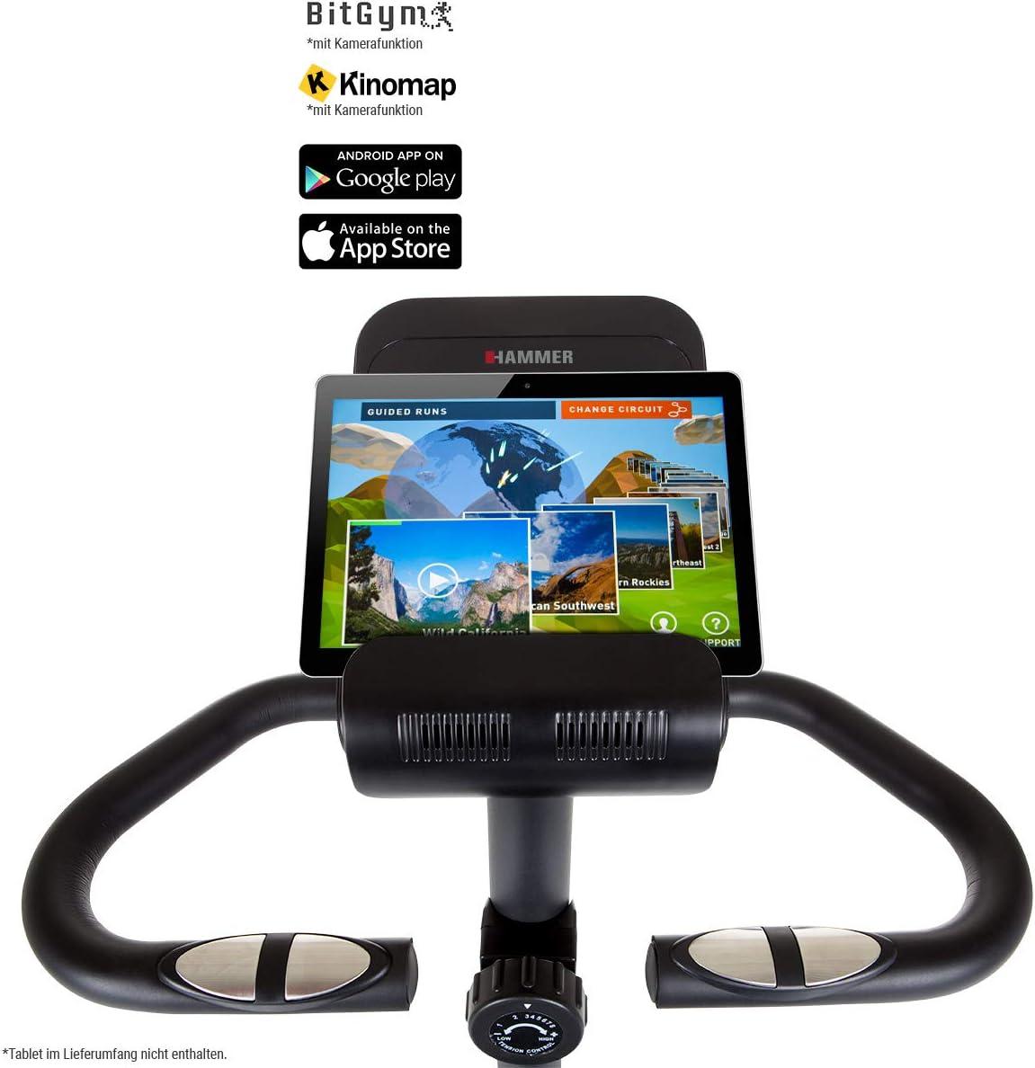 HAMMER Cardio 4.0 Ergometer - Bluetooth ++ Pulssensoren ++