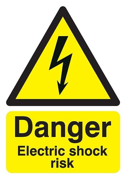 Buy Signs & Labels FHA10750R Sign Board, Danger Electric Shock Risk