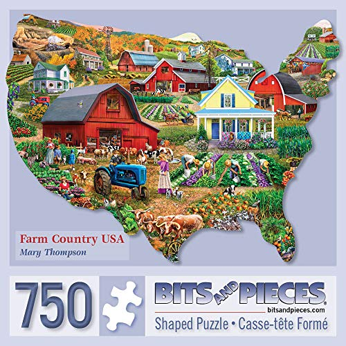 Bits and Pieces - 750 Piece Shaped Jigsaw Puzzle for Adults 20