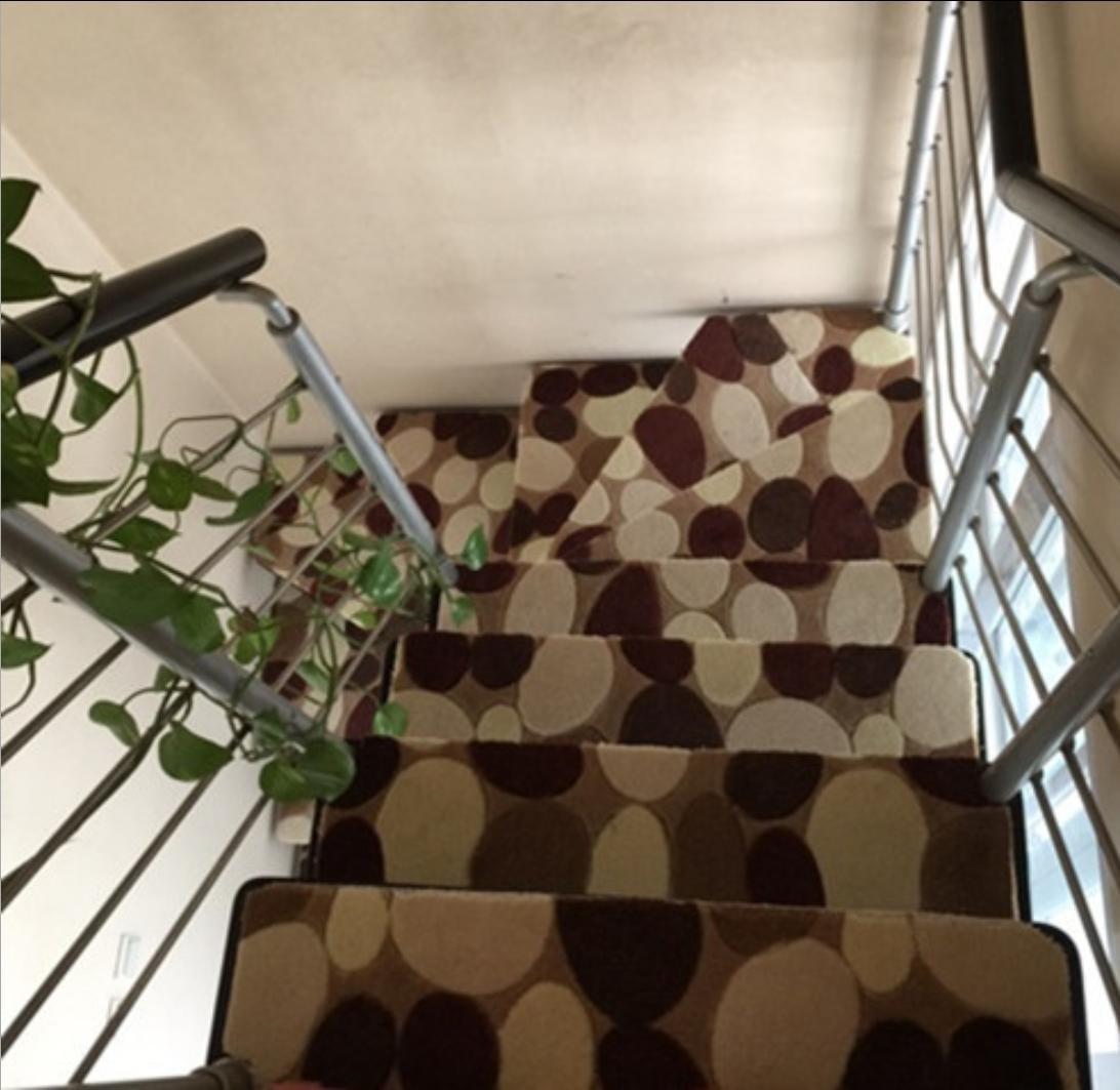 Dickes Rutschfeste Gummi Gummi Gummi Treppe Pad Stairway Treppe Teppich kann von der Saug- geschnitten Werden geformt, 1, 80  80cm B06XWDS74S Duschmatten dad618