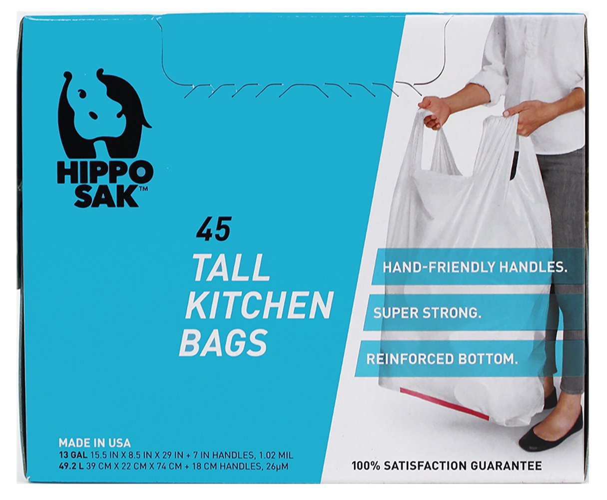 Amazon.com: Hippo Sak 13 gallon tall kitchen trash: Health ...