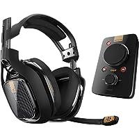 Astro 939-001533 Gaming Casque-Micro A40 TR Noir + MixAmp Pro TR pour PS4, PC, MAC