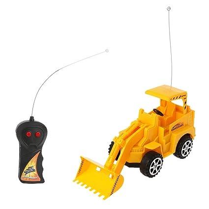 Blomiky 14.5 Inch Large Size Kids Push Toy Vehicles with 3pcs trashes inertia