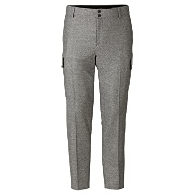 Wool Cargo Pants at Amazon Men's Clothing store: