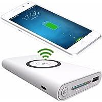 Batería Cargador Inalámbrico Celular Qi Power Bank