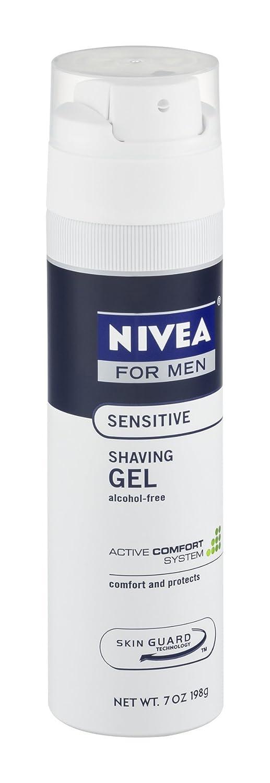 Nivea For Men Nivea For Men Sensitive Shaving Gel, 7 oz (Pack of 3)