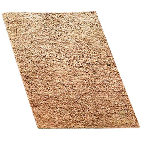 (Coco Fiber Mat for Pets - Chew-Safe and Paw-Friendly Reptile Bed - Terrarium Liner for Snakes, Chameleons, Geckos - Climbing Carpet - Low Maintenance)