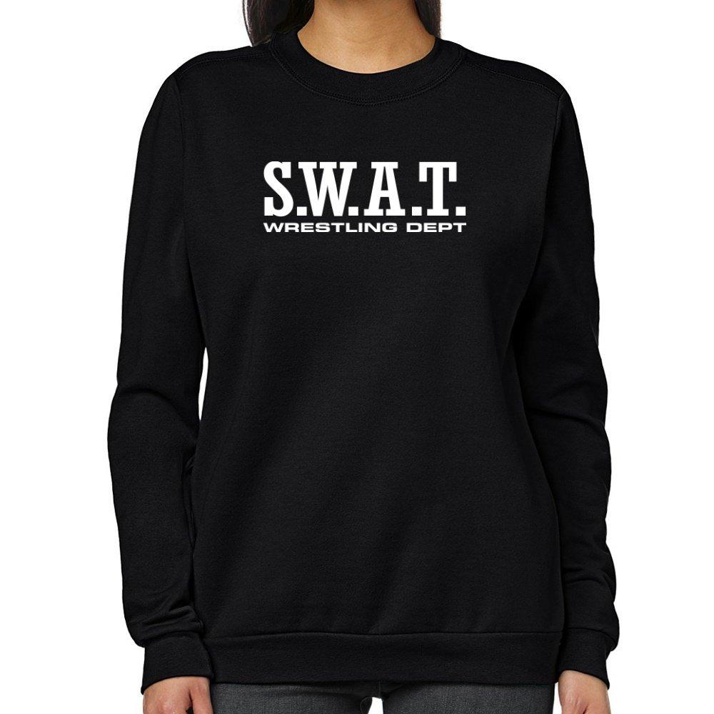 Teeburon SWAT Wrestling DEPT Women Sweatshirt by Teeburon