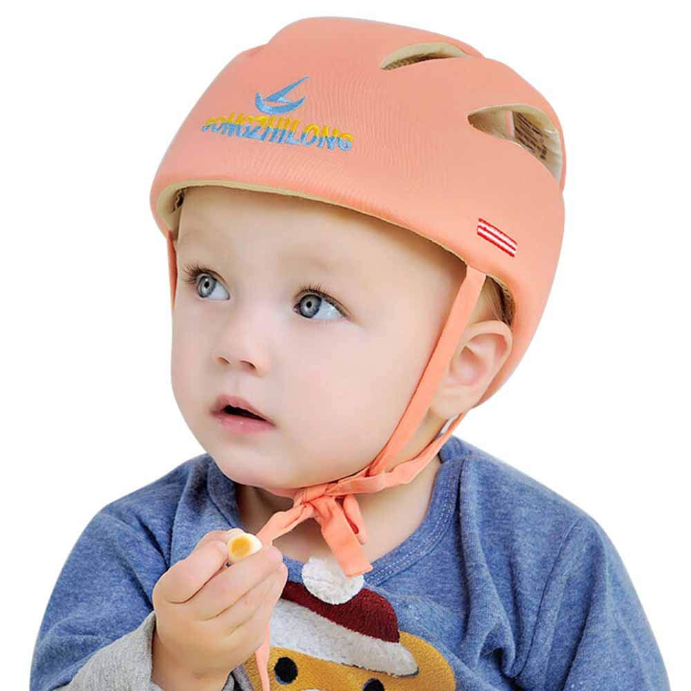 Baby Safety Helmet,Toddler Protective Head Cushion Bumper Adjustable (B)