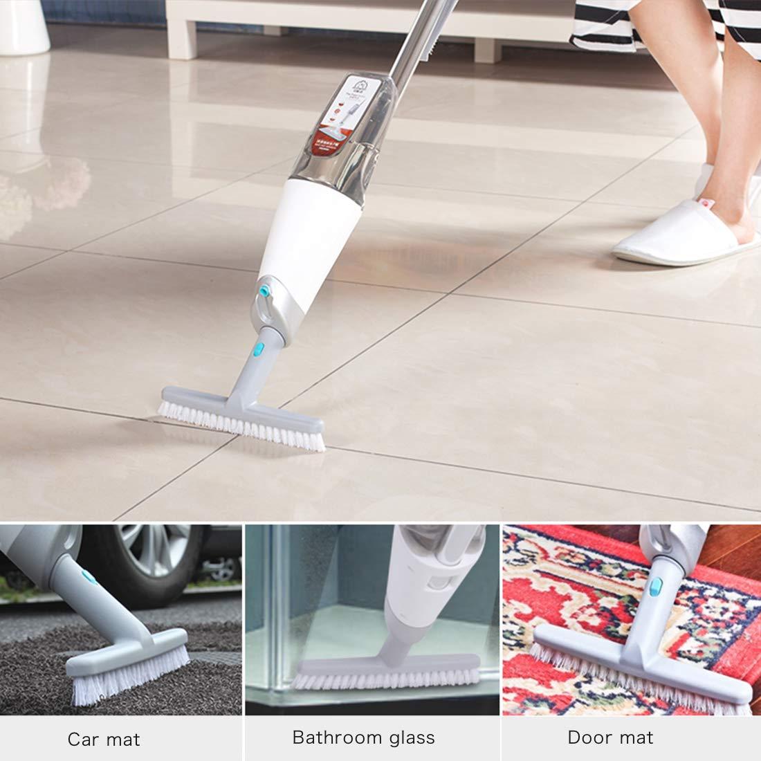 BOOMJOY Microfiber Hardwood Floor Spray Mop 360 Degree Professional Spray Mop with Reusable Microfiber Pad (P2)