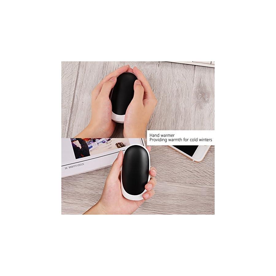 Madoats Rechargeable Hand Warmers Reusable Pocket Handwarmer 5200mAh USB Portable Heater