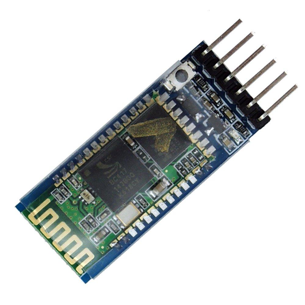 LeaningTech HC-05 Module Bluetooth Serial Pass-Through Module Wireless Serial Communication with Button for Arduino SainStore Inc.