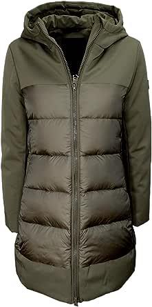 HOX Chaqueta de mujer XD4719 Technical Coat de plumas color gláceo