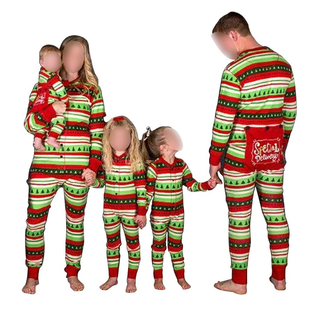 Xinvision Flapjacks Onesie Conjunto de Pijamas Familiares de Navidad - Adulto Niños y Infante PJs Xmas Vacaciones Sleepwear Ropa de Dormir de una Pieza: ...