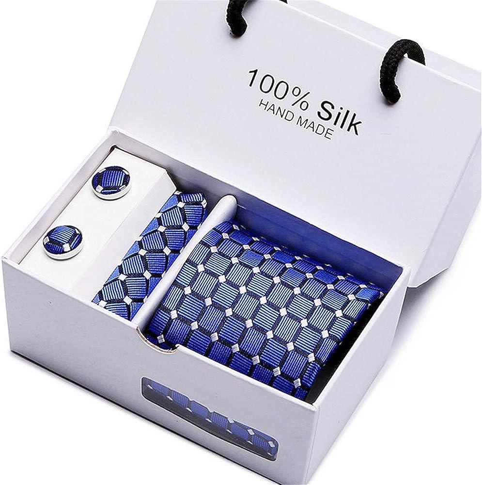mosaic art Shower Curtain MenS Tie Business Dress Wedding Tie Silk Jacquard Classic Necktie Set Ei3230-70