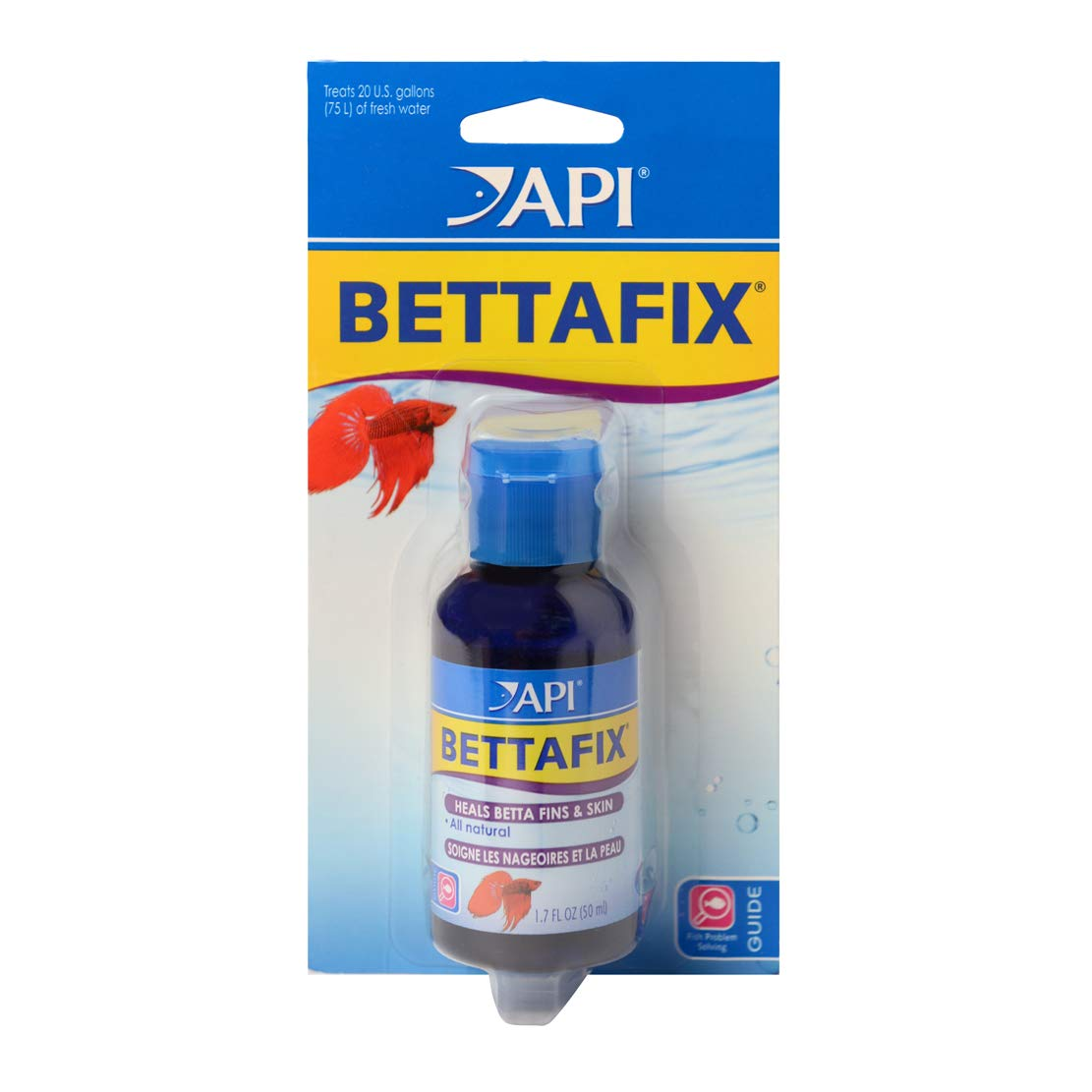 API bettafix Antibacteriano y antifúngico Betta Peces Infección y Hongos Remedy 1.7-Ounce Botella: Amazon.es: Productos para mascotas