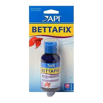 API bettafix Antibacteriano y antifúngico Betta Peces Infección y ...