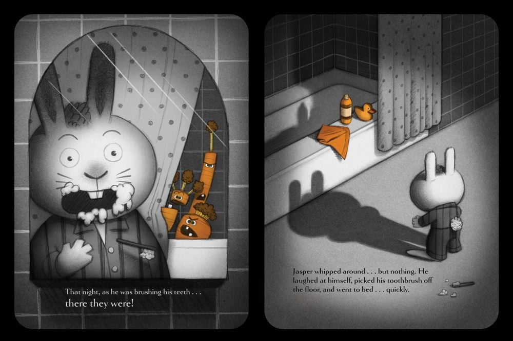 Creepy Carrots Aaron Reynolds Peter Brown 9781442402973