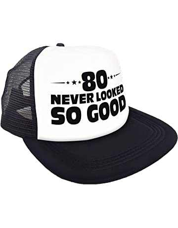 """432bd99a2660c """"80 Never Looked So Good"""" Hat – Happy 80th Birthday Party Supplies"""