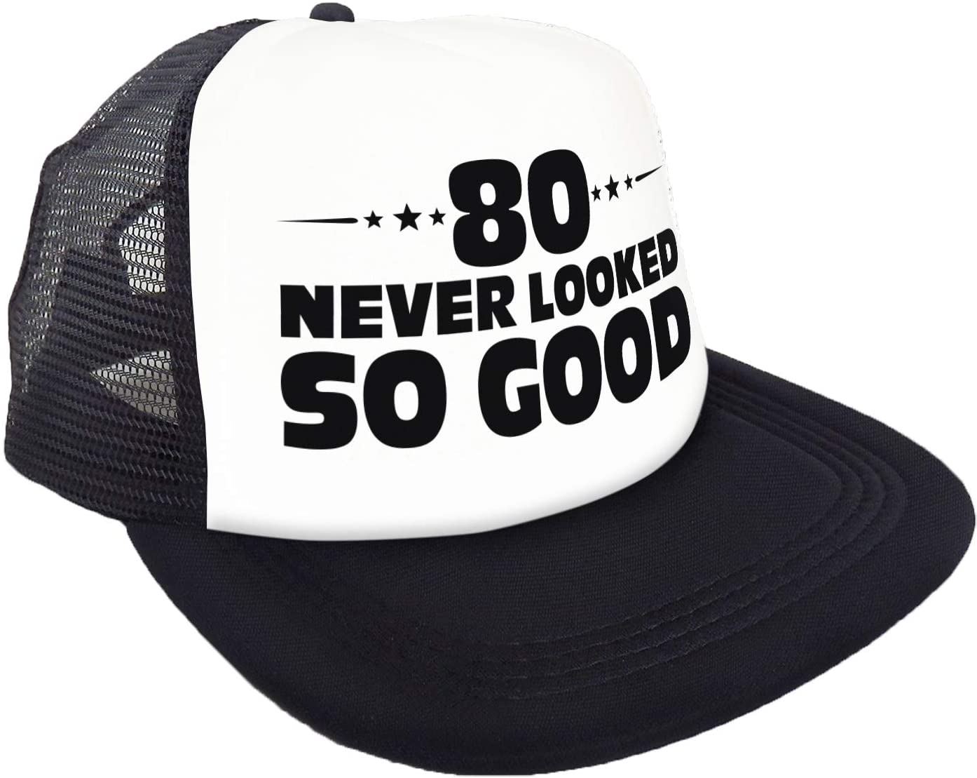 """Cappello /""""80 Never Looked So Good/"""" Compleanno Divertente Idee e Accessori per 80/° Compleanno Sterling James Co Decorazioni"""