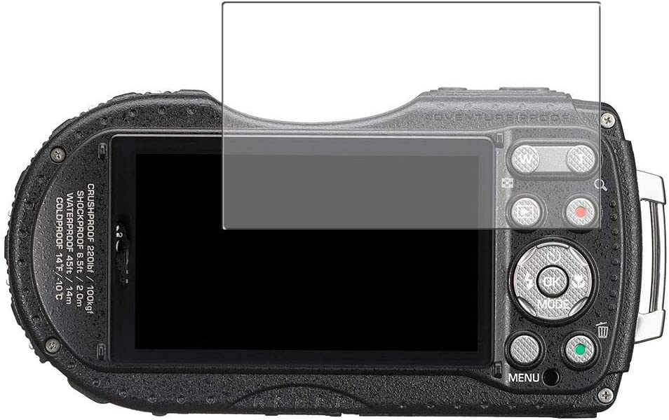 Vaxson Protector de Pantalla de Privacidad, compatible con RICOH WG-4 GPS [no vidrio templado] TPU Película Protectora Anti Espía