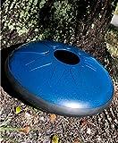 14'' Idiopan Dominus Steel Tongue Drum w/ Pickups - Blue