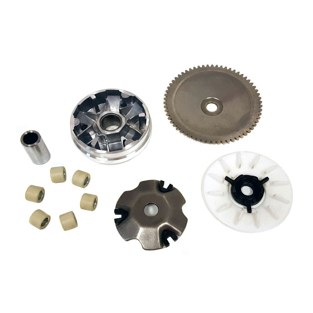 MYK Variator Drive Wheel Assy (CVT) Complete for GY6/QMB139 50cc Engines