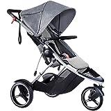 phil&teds Dash Inline Stroller, Grey Marl