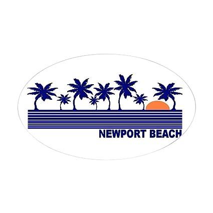 Amazon Com Cafepress Newport Beach California Oval Sticker Oval