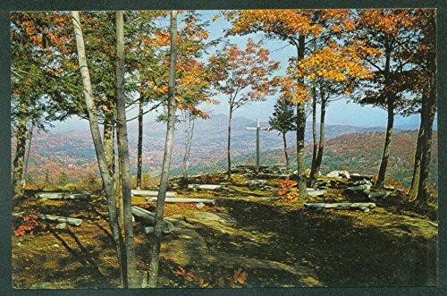 Bristol Memorial - BRISTOL NEW HAMPSHIRE Inspiration Point - Little Round Top Memorial NH Postcard