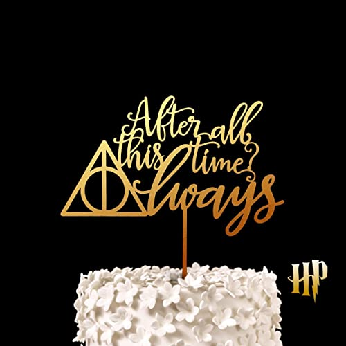 Amazon Harry Potter After All This Time Always Wedding Cake
