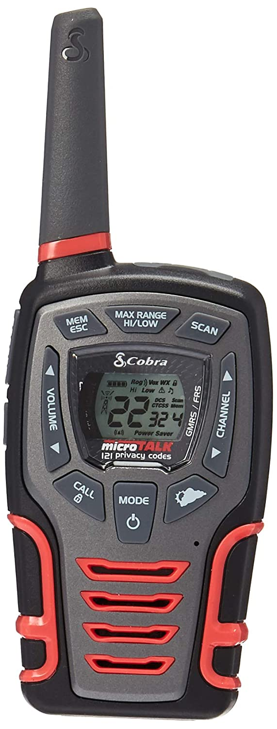 Black /& Red Rechargeable with Dock Altis Global Limited Cobra CXT531 Kids Walkie Talkie 2-Way Radios