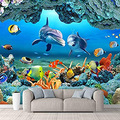 Crafted to Perfection, Majestic Visual, Wall Mural The Beautiful Undersea World Removable