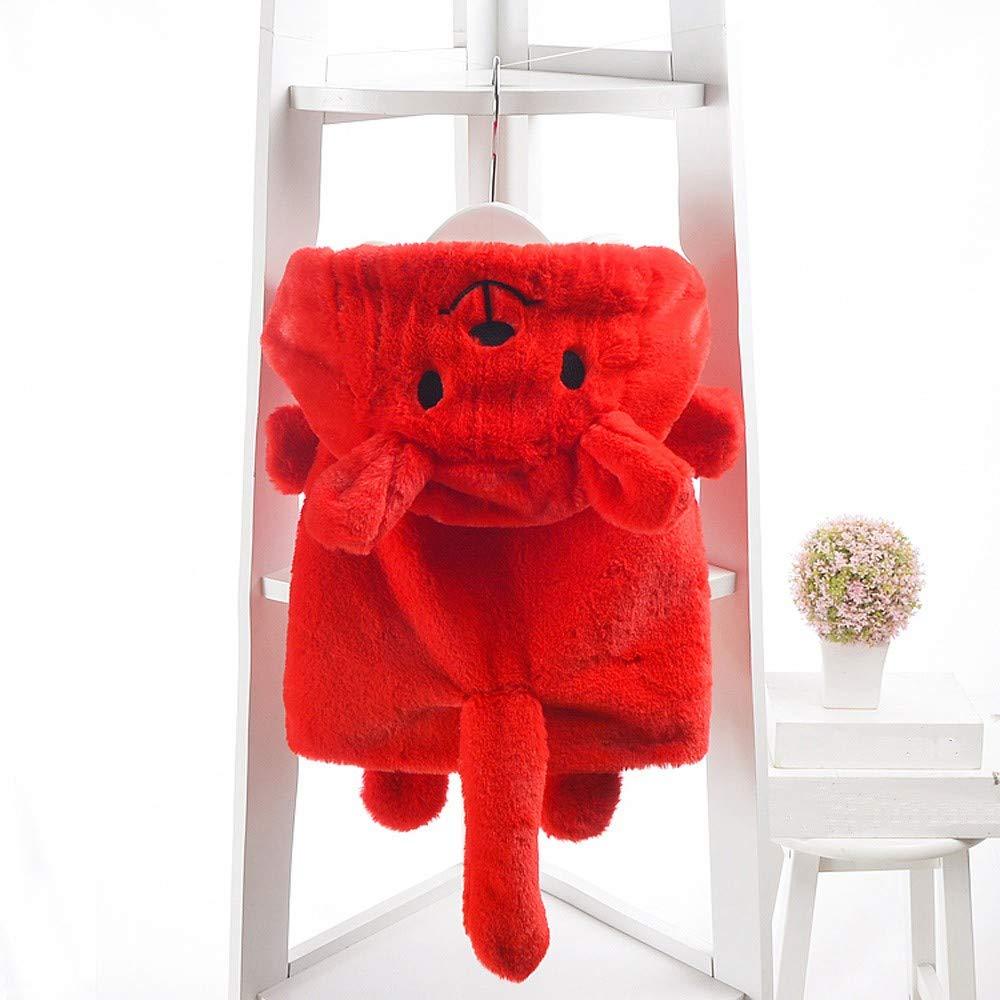 Willsa Baby Girl Clothes Cute Soft Comfortable Toddler Kids s Sleeveless Cartoon Bear Hooded Warm Waistcoat Tops