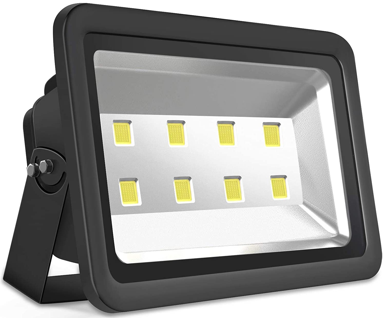 SZPIOSTAR High Power 400W Outdoor LED Flood Light, Daylight White 6000K, 50,000hrs Lifetime, 40000lm, Waterproof IP65 Landscape Spotlight Commercial Residential Lighting Fixtures