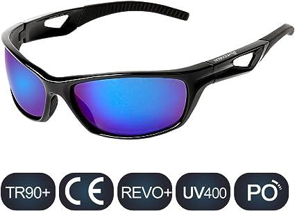 Men And Women PC Glasses UV400 TAC Lens HD Polarized Cycling Sport Sunglasses