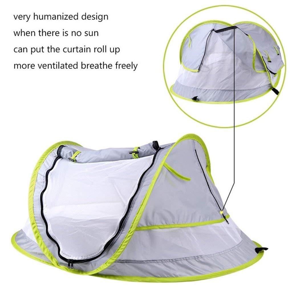 Cama port/átil de Viaje para ni/ños peque/ños Pop Up Mosquito Net KAIMENG Carpa de Playa para beb/é UPF 50+ Refugios de Sol para beb/és