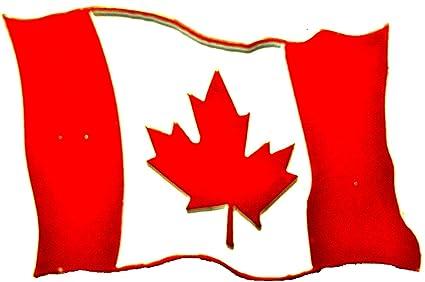 Amazon.com: Canadian Flag Map Fridge Magnet: Kitchen & Dining on