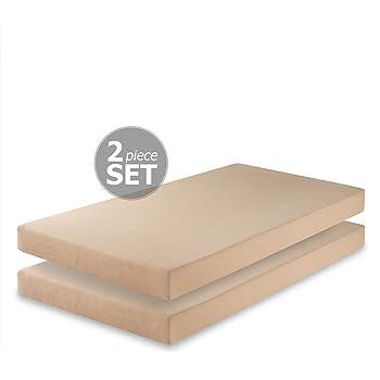 twin mattress set. Zinus Memory Foam 5 Inch Twin Mattress, Set Of 2 Twin Mattress Set
