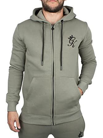 Gym King Hombre Core Logo de chándal chaqueta con cremallera ...