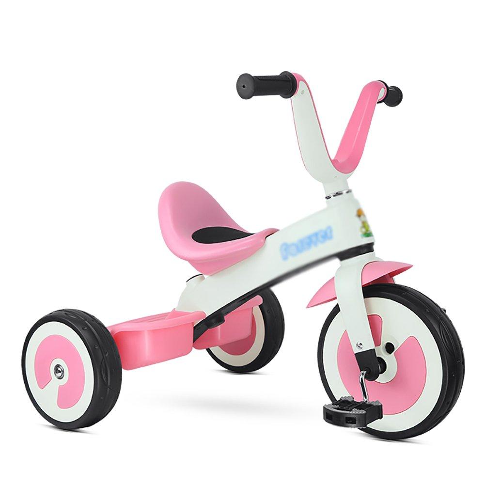 三輪車の発泡ホイールのおもちゃのバイク2-5歳の子供の男の子の女の子の赤ちゃんキャリッジ Pink B07FJMP3BH Pink, ハーブティークレイ岩塩専門店:fafd95eb --- rchagen.ru