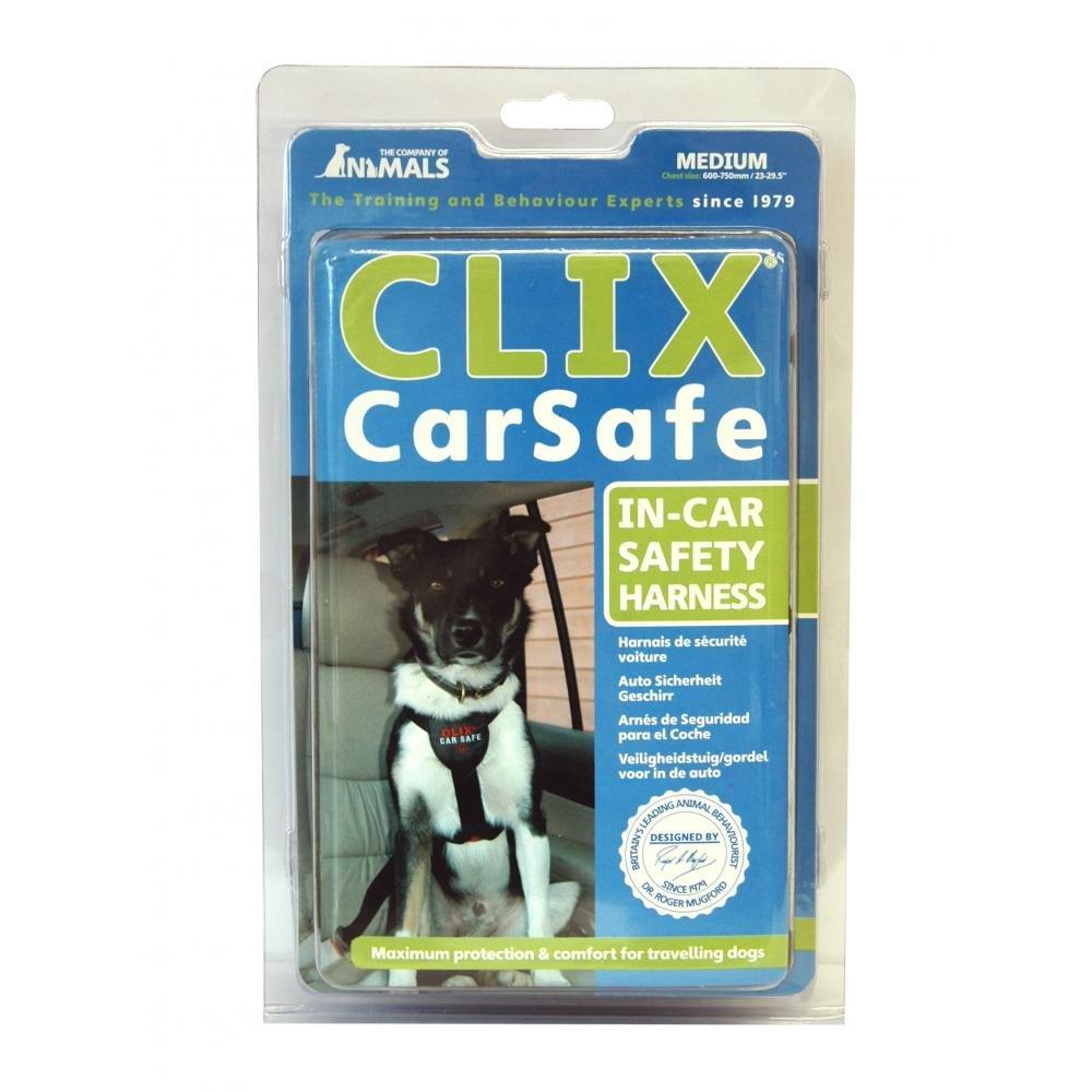 Clix - Arnés de seguridad para el coche (Pequeño) (Negro): Amazon ...