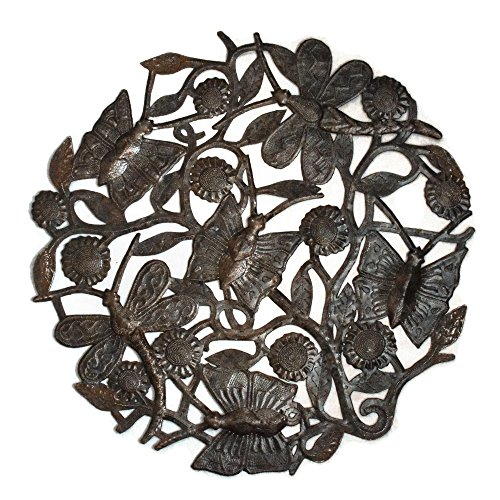 Haitian Metal Art - Butterflies and Dragonflies